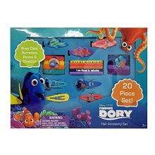 Finding Dory Assorted Hair Accessory Set Set of 20