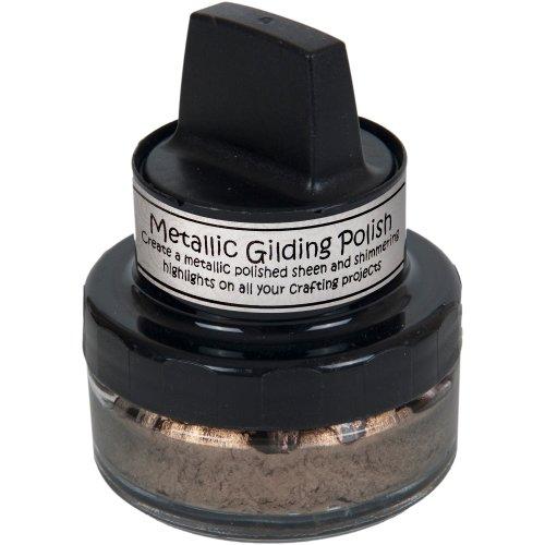 Cosmic Shimmer Metallic Gilding Polish-Chocolate Bronze