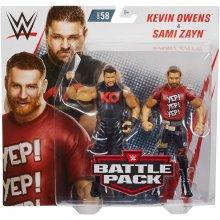WWE WrestleMania Kevin Owens vs Sami Zayn Battle Pack Action Figures