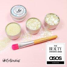 EcoStardust Sherbet Biodegradable Trio-Glitter, Gel, Brush Set