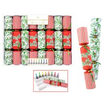 8 Musical Christmas Crackers Jingle Bells Festive Fun Music Family Game Novelty