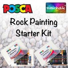 Posca Rock Painting Starter Kit.