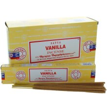1 BOX OF 12 PACKS SATYA NAG CHAMPA VANILLA SCENT INCENSE STICKS 15g HOME FRAGRANCE AGARBATTI