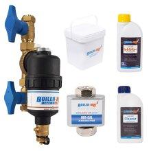 Boiler-m8 Defender-2 22mm Magnetic Filter Combi-Boiler Compliance Pack