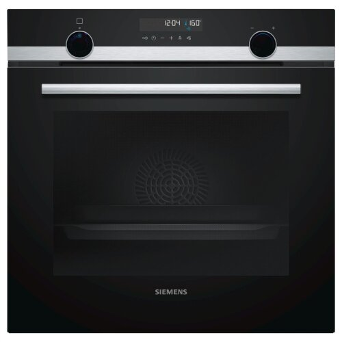 Siemens iQ500 HB578A0S0B Single Built In Electric Oven, Black - Used
