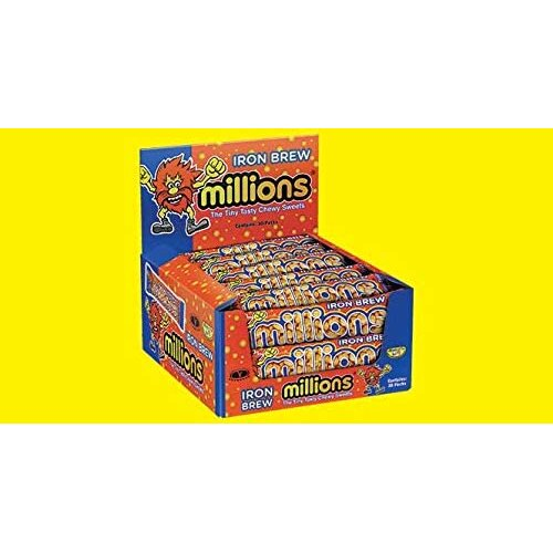 30x Iron Brew Millions Sweets Candy Irn Bru Rare Flavour (Box of 30)