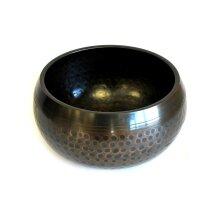 Med Black Beaten Bowl - 15cm