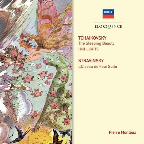 Paris Conservatoire Orchestra / Lso Cond Pierre Monteux - Tchaikovsky: Sleeping Beauty Stravinsky: Firebird [CD]