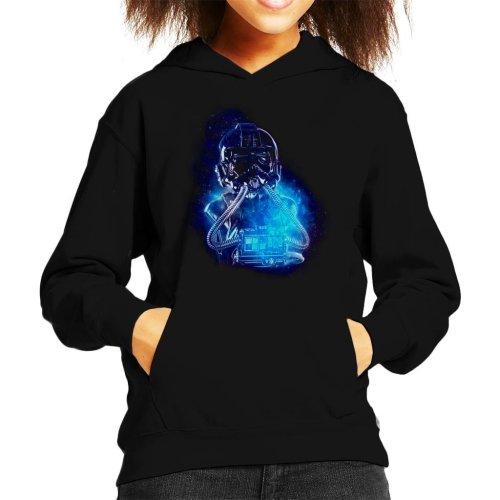 Original Stormtrooper Imperial TIE Pilot Space Kid's Hooded Sweatshirt
