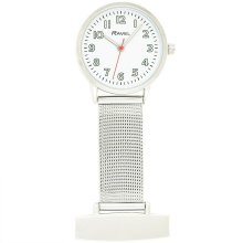 Nurses / Beautician Minimal Mesh Fob Watch By Ravel Model R1101.22