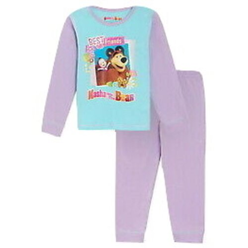 (4-5 Years) MASHA AND THE BEAR PYJAMAS - BEST FRIENDS