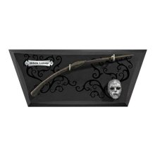 Harry Potter Bellatrix Wand with Wall Display and Mini Mask
