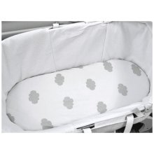 Shnuggle Moses Basket Fitted Sheets 2 Pack