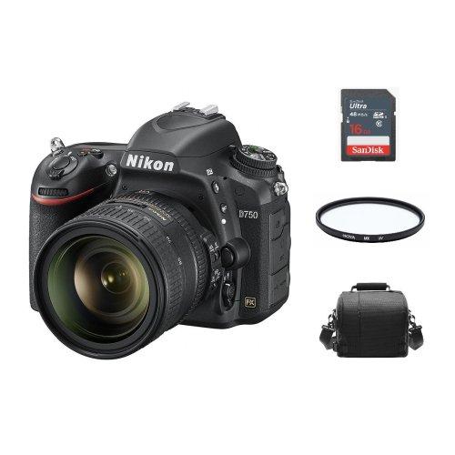 NIKON D750 KIT AF-S 24-85MM F3.5-4.5G ED VR+ Bag + 16G + Filter
