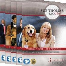 Cicso Independent DVD440 Sue Thomas - F.B.Eye Volumes 1-5 DVD Set