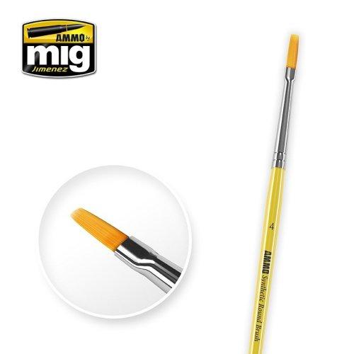 Ammo by Mig - Synthetic Flat Brush Size 4