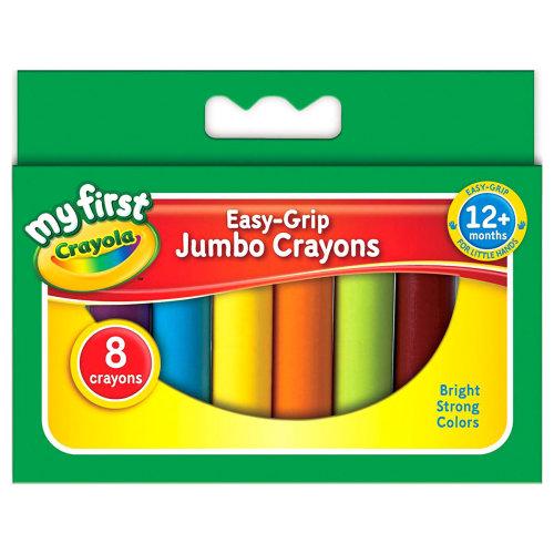Crayola Jumbo Wax Crayons (Pack of 8)