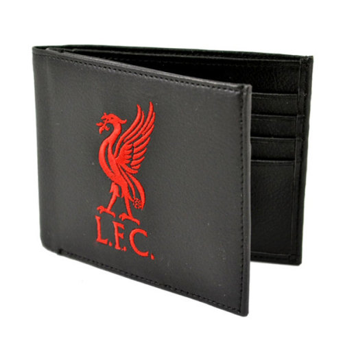 Liverpool F.c. Wallet Lfc 7000 - Embroidered Football Club Team Fathers -  embroidered football club team wallet fathers gift crest