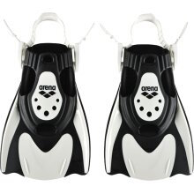 Arena Power Fit Swimming Aids Training Swim Fin Flippers Black/White ( ***New)