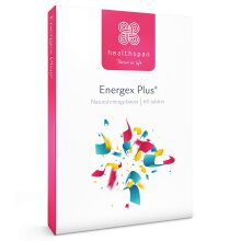 Energy Support | Energex Plus | Healthspan | 60 Tablets