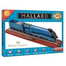 Build Your Own 3d Puzzle Model Kit - the Mallard (155 Pieces)