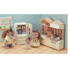 Sylvanian Families 5341 Kitchen Play Set, Multi-colour
