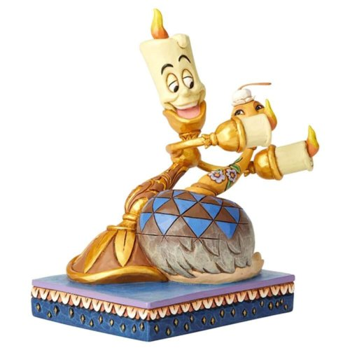 Disney Traditions Lumiere and Fifi 'Romance by Candlelight' Figurine