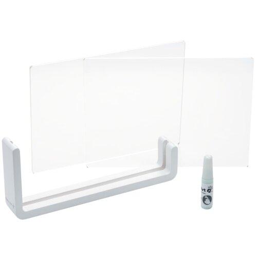Baby Art Transparent Print Frame Wood Wooden Impression Frame Hand Print Kit