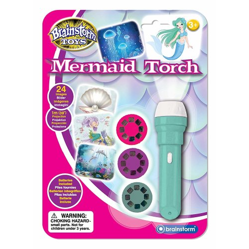 Brainstorm Toys E2057 Mermaid Torch & Projector