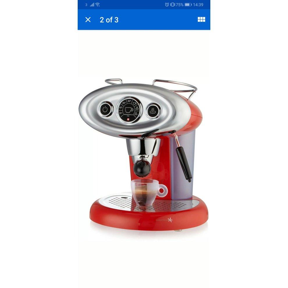 illy Metodo X7.1 Espresso Machine Cappucchino Maker Red Iperespresso