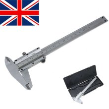 """New 6""""/150mm Vernier Caliper Gauge Micrometer Stainless Steels Measuring Tool UK"""