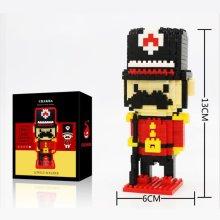 Royal Guard / Nutcracker Soldier Nano Micro Building Blocks Duke