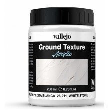 Val26211 - Av Vallejo Stone Textures - White Stone Paste 200ml