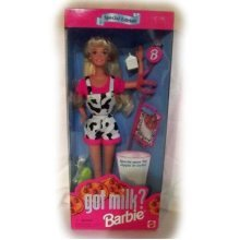 Barbie Got Milk
