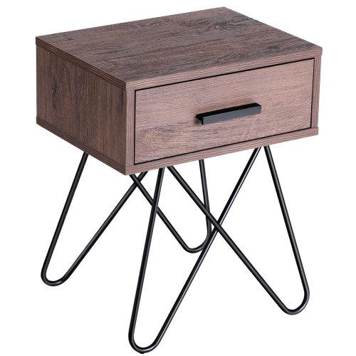 American 50s Diner Furniture 4 Metal Drawer Retro Storage Unit