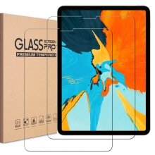(2 Pack) 9H Hard Ultra Clear Anti Fingerprint Scratch Resistant HD Tempered Glass Screen Protector for Apple iPad PRO 12.9 inch (2021/2020/2018)