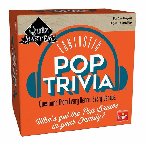 Games - Pressman Toy - Quizmaster Pop Trivia   New 3633-06
