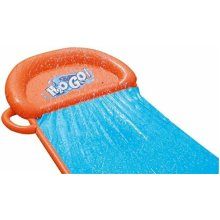 H20GO! SINGLE WATER SLIDE! Great Outdoor Fun For Kids and Family! Exercise Child