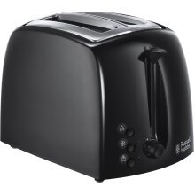 Russell Hobbs Textures 21641 2 Slice Toaster - Black