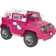 Hello Kitty 6-Volt 4x4 Electric Battery-Powered Ride-On