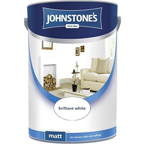 (2.5l) Johnstones Matt Emulsion - Brilliant White