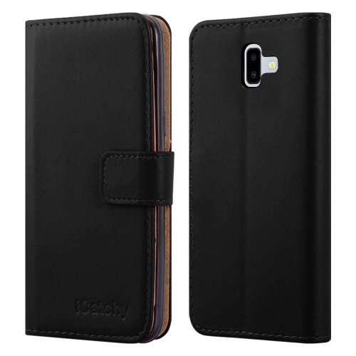 For Galaxy J6 Plus Leather Wallet Flip Case Cover