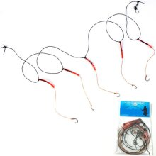 Fishhooks Stainless Steel Rigs Swivel Fishing Tackle Lures - Pesca Baits Single Hook Combination 5 Small Hooks for fishing