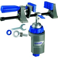 Dremel 2500 Multi-Vise, Adjustable Bench Vice with Clamp and Tool Holder