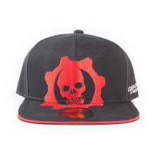 Red Helmet Logo Snapback Baseball Cap