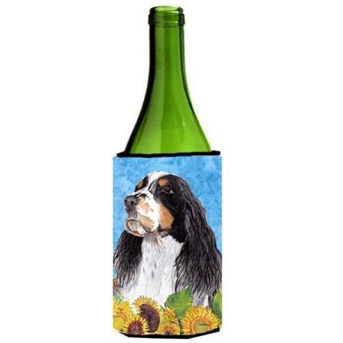Springer Spaniel Wine bottle sleeve Hugger - 24 oz.