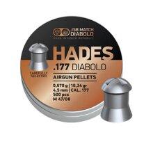 JSB Match diabolo Hades .177 air gun pellets