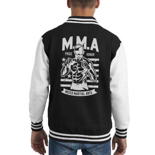 MMA Fighter America Pride Kid's Varsity Jacket