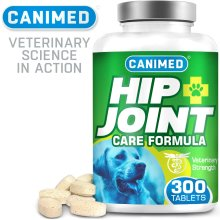 CANIMED Joint Supplements For Dogs - With Glucosamine and Chondroitin