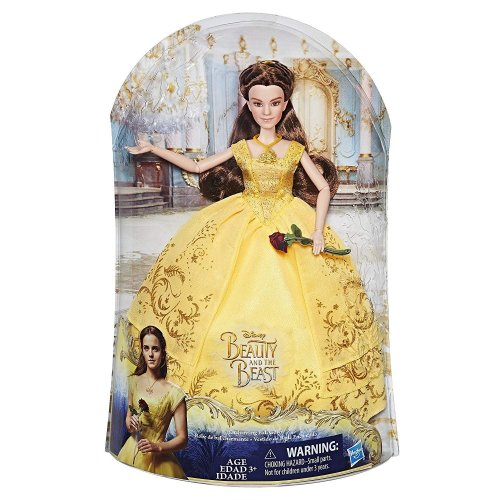 Beauty and the Beast Singing Belle Disney Princess Enchanting Ball Doll